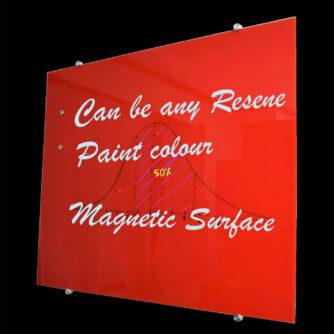Glass Whiteboard - Any Resene Colour & Multiple Sizes