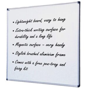 Acrylic Magnetic Whiteboard - Multiple Sizes