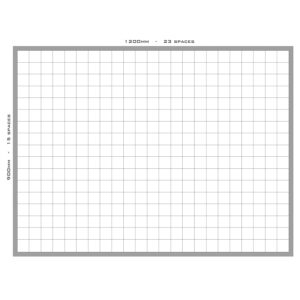 Square Grid Board - Multiple Sizes