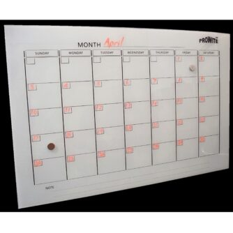 Printed Glass Whiteboards - Multiple Designs