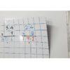 Grid whiteboard magnet
