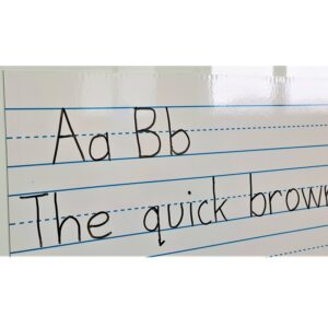 Handwriting whiteboard magnet