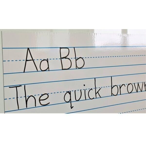 Handwriting whiteboard magnet