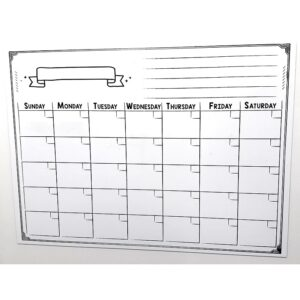 MONTH PLANNER A3 MAGNET