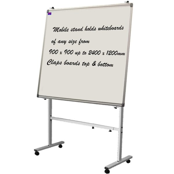 Acrylic Magnetic Mobile Whiteboard - Multiple Sizes