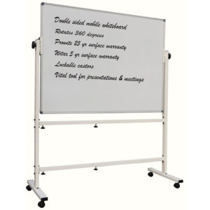 Pprowite mobile porcelain magnetic whiteboard