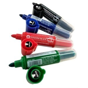 Refillable Whiteboard markers -Various colours