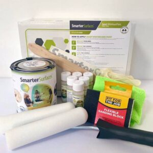 Smart Whiteboard Paint Clear Full Kit