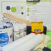 Smart antimicrobial whiteboard paint kit