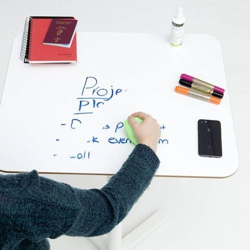 Smarter Surfaces smart self adhesive whiteboard desk