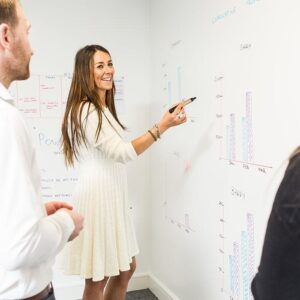 Smarter Surfaces smart whiteboard paint