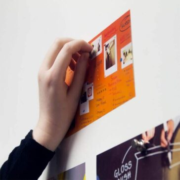 Smart magnetic wallcovering office walls