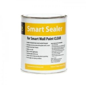 Smart wall paint clear primer sealer