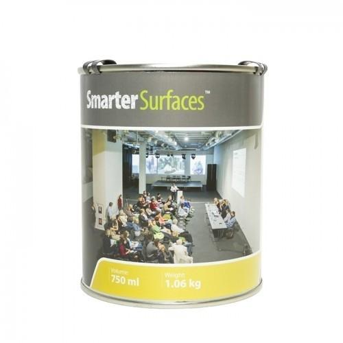 Smarter Surfaces smart projector paint tin