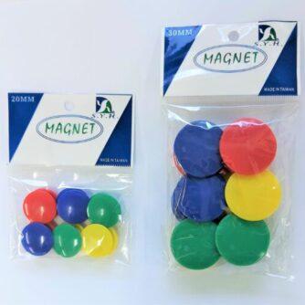 Magnet 2 cm & 3cm pack of 12
